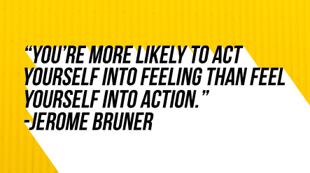 Qoute Jerome Bruner